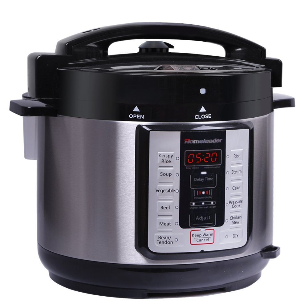 11-in-1 Programmable Multi-Cooker (Pressure Cooker, Rice Cooker, Steamer, Warmer, Yogurt Maker, Egg Cooker, Saut, Steamer, Warmer, and Sterilizer,Etc.), 1000W