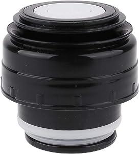 TiaoBug 4.5/5.2cm Vacuum Flasks Cover Lid Bullet Flask Cover cup Outdoor Travel Cup Mug Outlet Accessories Black 5.2cm Diameter