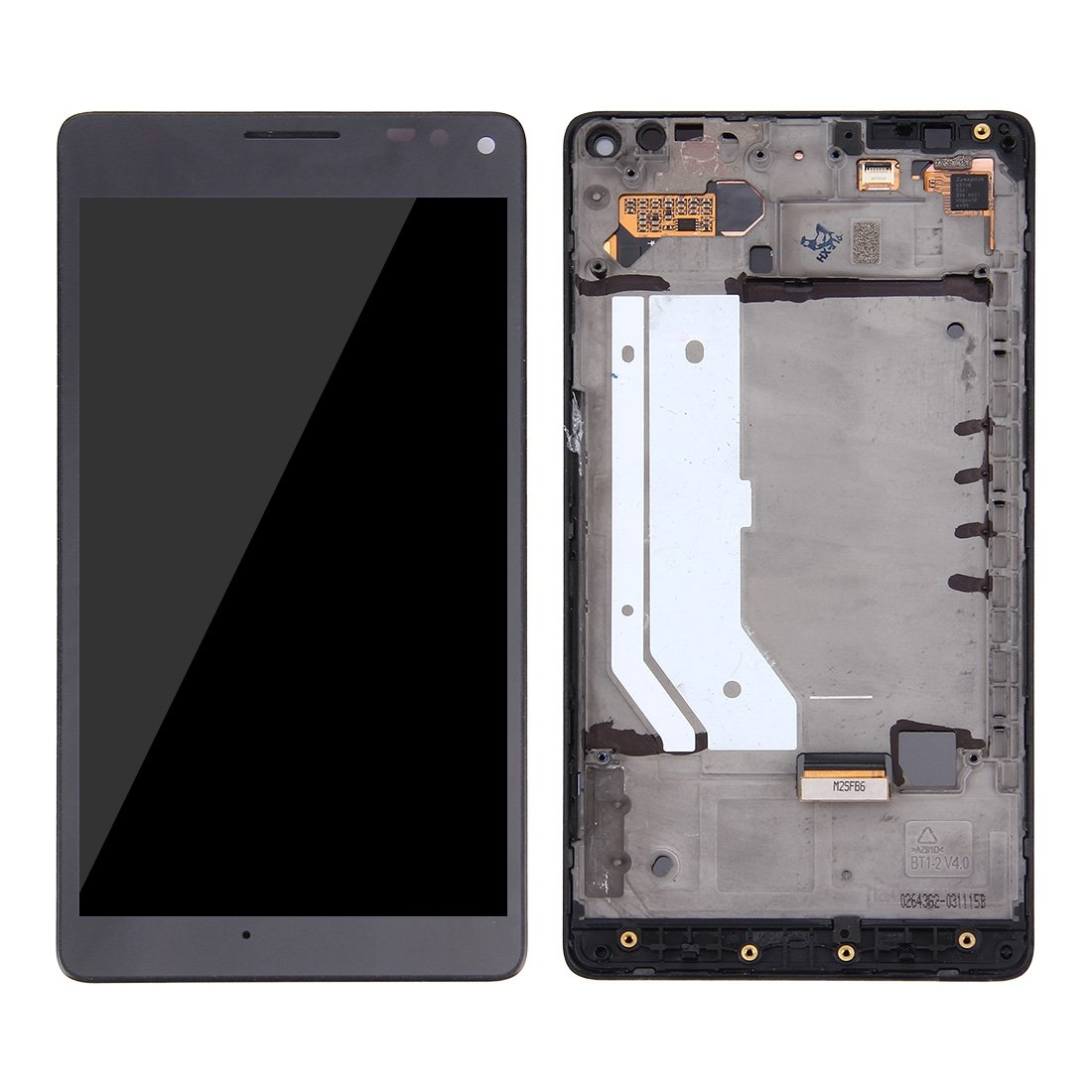 iPartsBuy For Microsoft Lumia 950XL LCD Screen + Touch Screen Digitizer Assembly with Frame(Black)