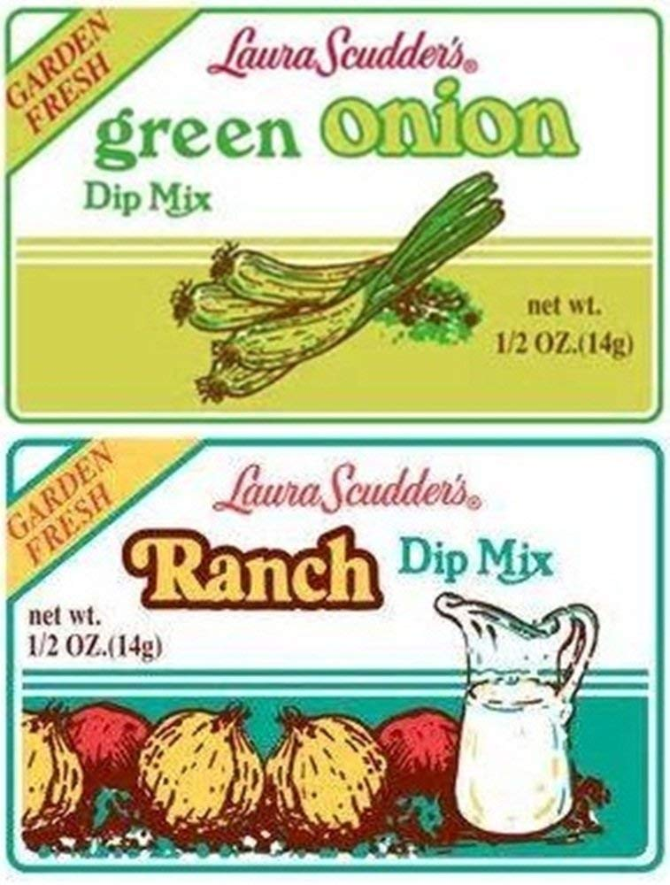 Laura Scudder's Green Onion & Ranch Dip Mixes (Pack of 12) by Laura Scudder's