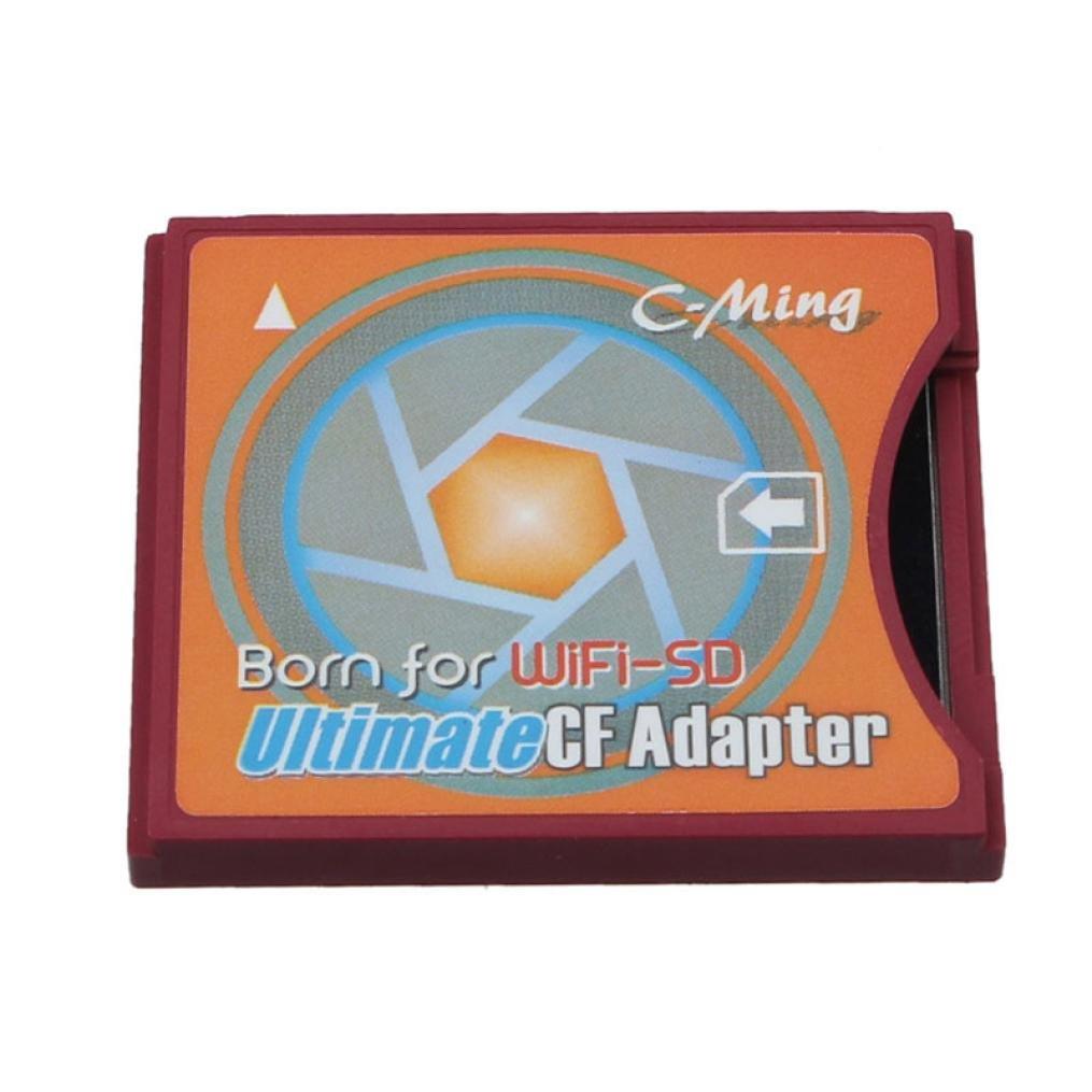 hmeng Extreme Compact Flash Adaptador de tarjeta SD WiFi Eye ...