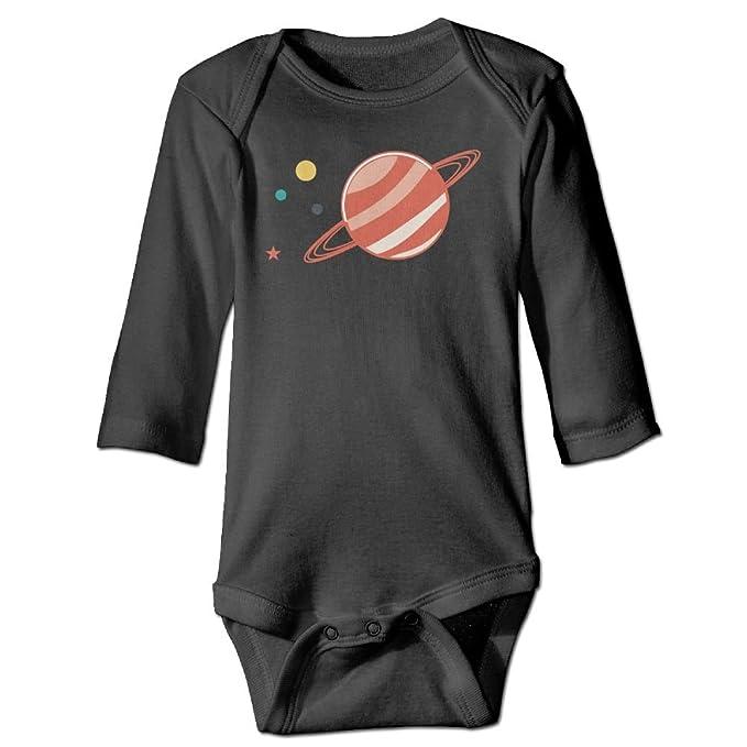 82d53bf7d Amazon.com  BODYSUITS IIUI Planet Saturn Space Unisex Kid s Baby ...