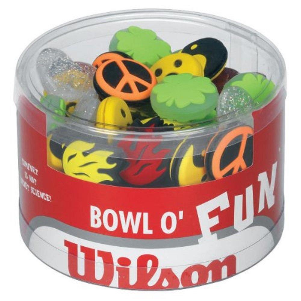 Wilson Sporting Goods Bowl of Fun Tennis Vibration Dampeners (75-Piece)