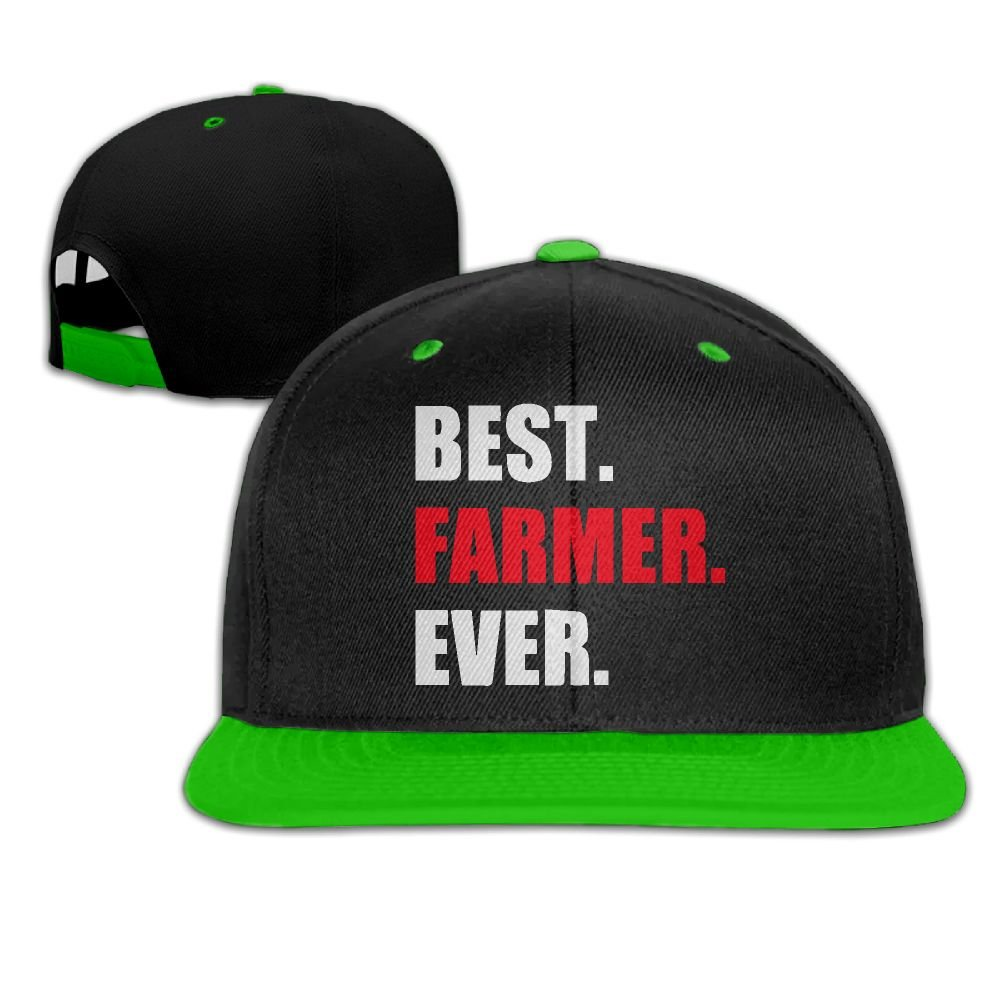 KIDT HAT Unisex Baseball Cap Hat Best Farmer EverRelaxed Cotton Fitted Cap  for Women at Amazon Men s Clothing store  369073a96d8