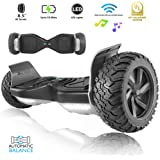 "XPRIT 8.5"" Wheel Hoverboard w/Bluetooth Speaker - All Terrain(UL2272 Certified)"