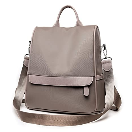 bde4f3c2bd22 Amazon.com: MSZYZ All-match nylon Oxford cloth Canvas Backpack Bag ...