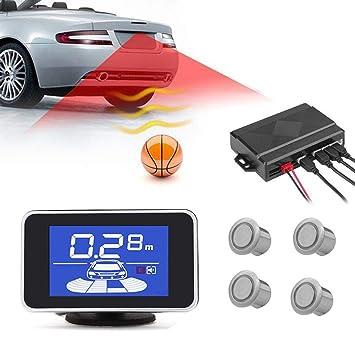 Sistema de asistencia de estacionamiento automóviles Sistema de radar de respaldo inverso inalámbrica Sistema de detector de vigilancia de radar de parque ...