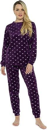 CityComfort Pijama Mujer Invierno | Conjunto de Pijama 2 ...