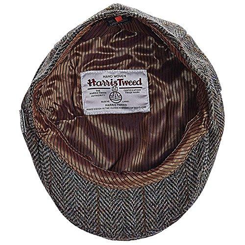 Stetson Men's Harris Tweed IVY Cap, Olive, - Shopping Tweed