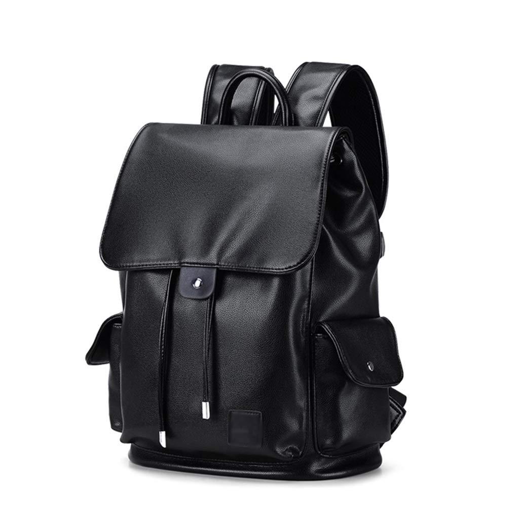 メンズおよびレディースバックパック、レジャースクールバッグ携帯電話ウォーターカップ収納袋通気性ショルダーストラップ (Color : Black1, Size : 30*15*40cm) B07T2H2842 Black1 30*15*40cm