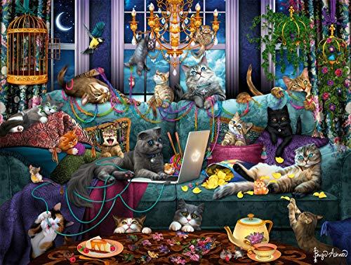 Buffalo Games – Quarantine Cats – 750 Piece Jigsaw Puzzle