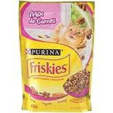 Ração para Gatos Friskies Adulto Mix de Carne ao Molho - 85g Purina para Todas Todos os tamanhos de raça Todas as fases - Sab