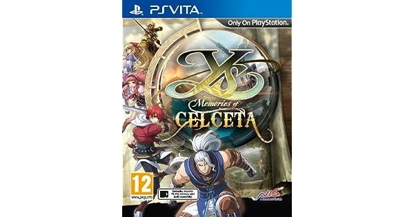 YS: Memories of Celceta (Playstation Vita) [importación ...