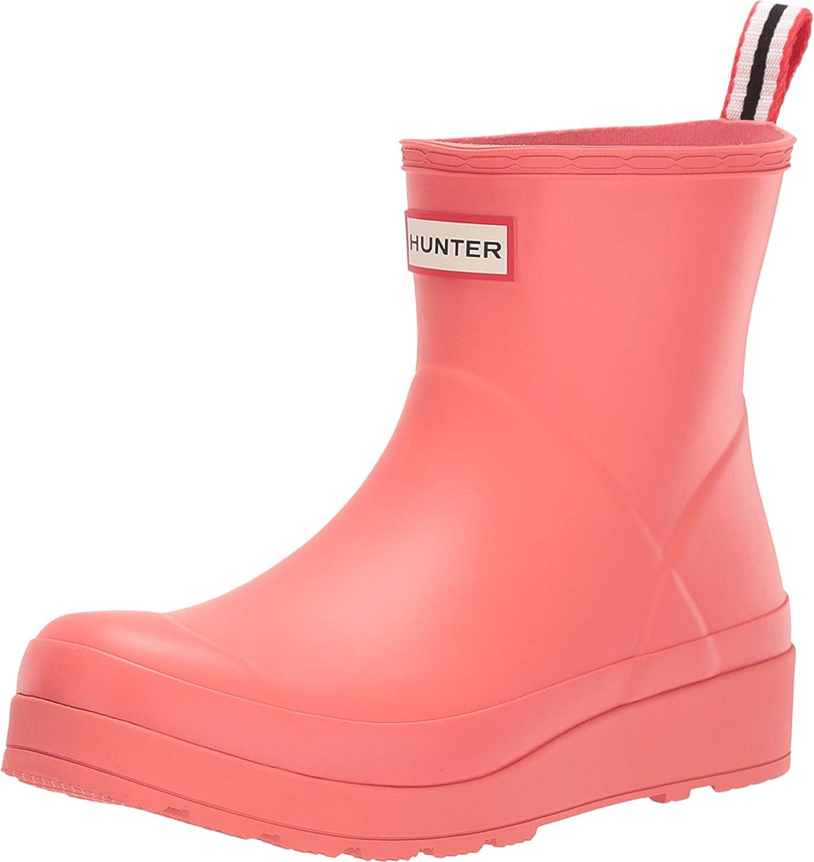 Womens Hunter Original Play Winter Waterproof Snow Rain Rubber Ankle Boot