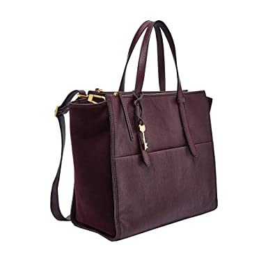 b9068b2c0c590e Amazon.com: Fossil Campbell Tote Bag Indian Teal, fig: Clothing