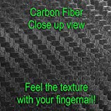 3D Carbon Fiber Black - Air Release Vinyl Decal