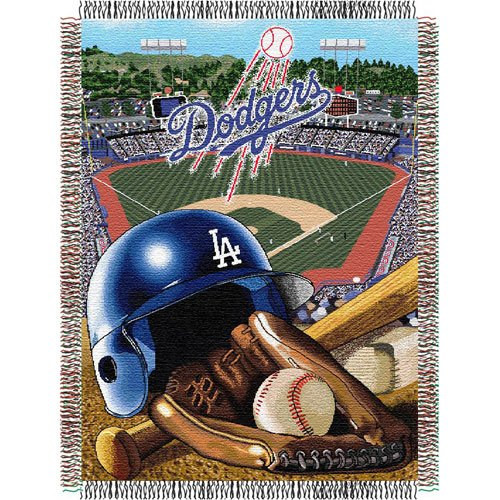 Los Angeles Dodgers 48x60 Home Field Advantage Tapestry Throw