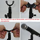 LUCOG Desktop Microphone Stand Tabletop Mic Stand