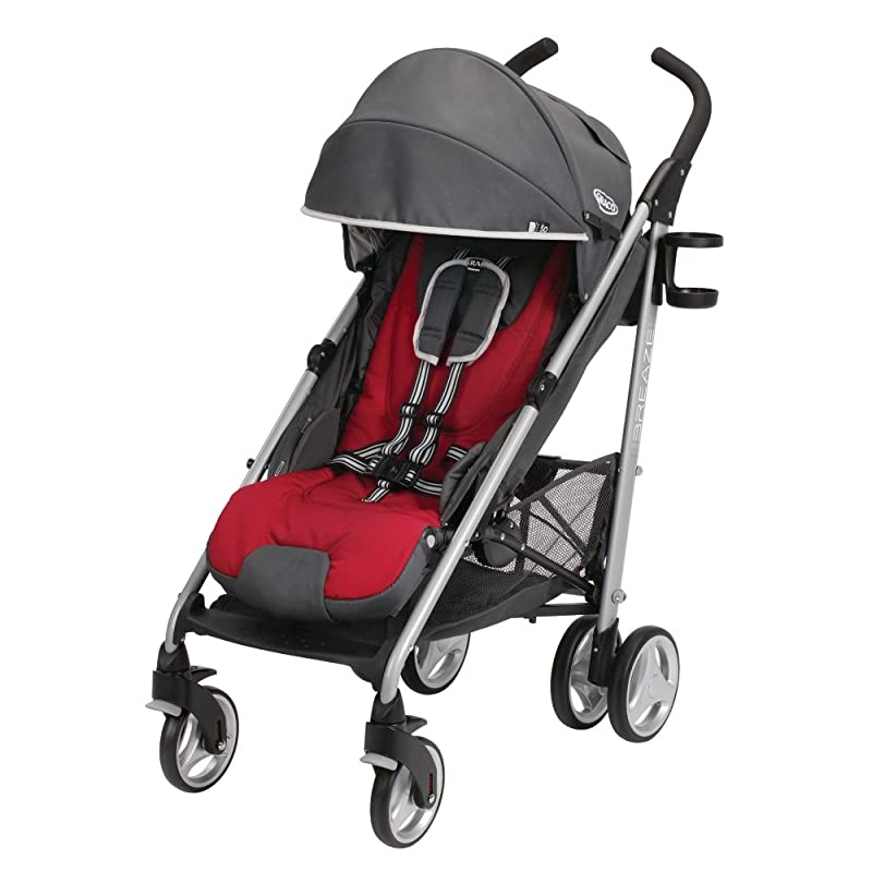 2014 Graco Breaze Click Connect Stroller, Chili Red