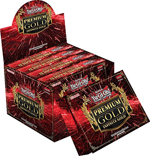 YuGiOh Premium Gold Infinite Gold Display Box [5 Mini Boxes] by Yu-Gi-Oh!