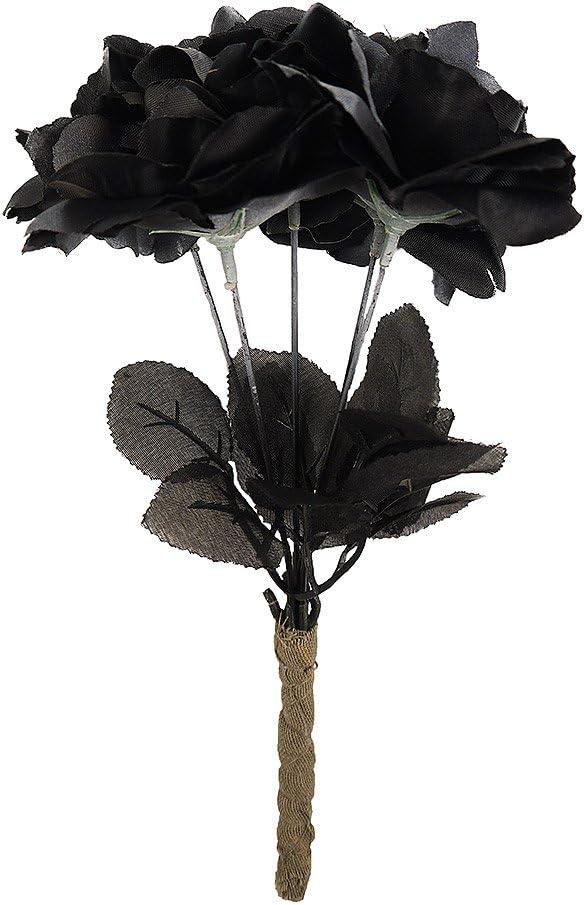 Bouquet Sposa Nero.Bouquet Da Sposa Nero Con Rose Amazon It Giochi E Giocattoli