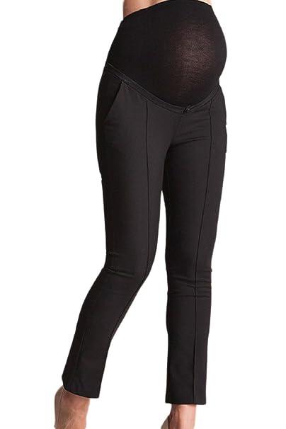 94dacafac4931 Fanvans Womens Maternity Dress Pants Bootcut Office Trousers at Amazon  Women's Clothing store: