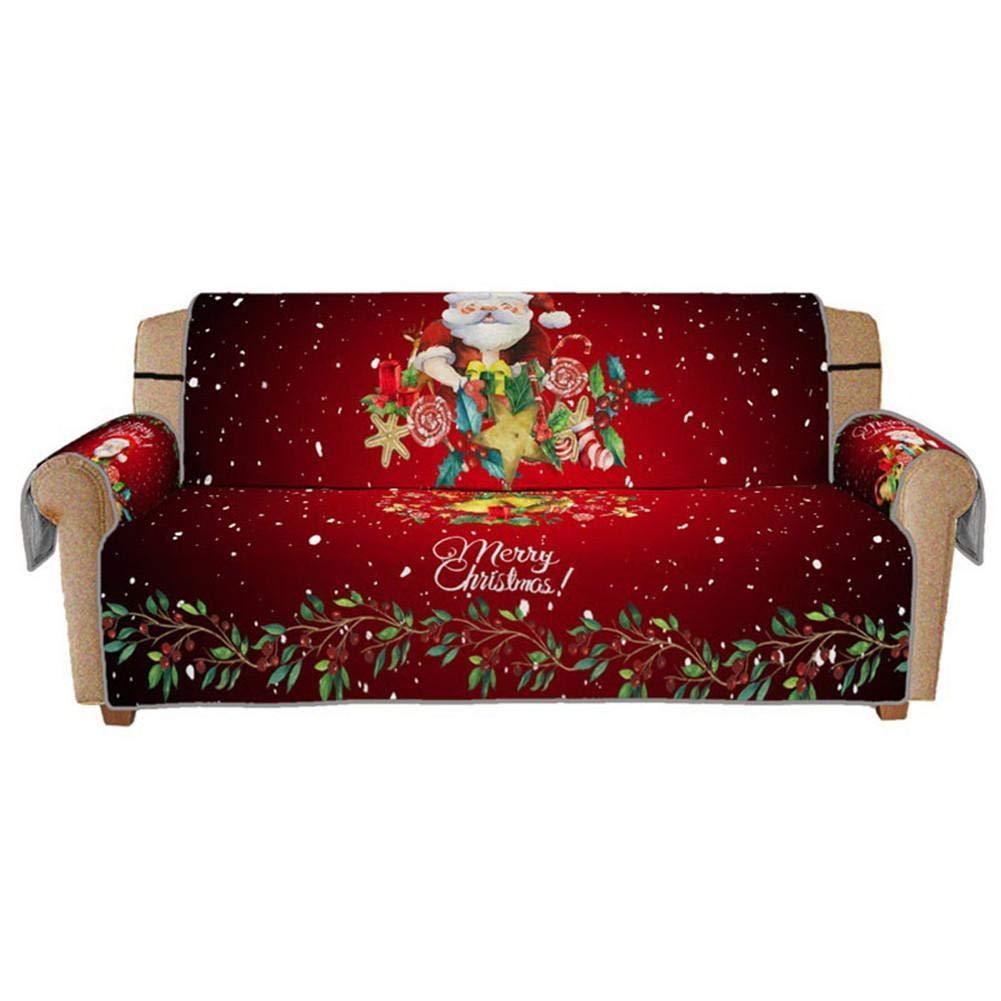 Funda para sofá para decoración navideña, Funda con ...