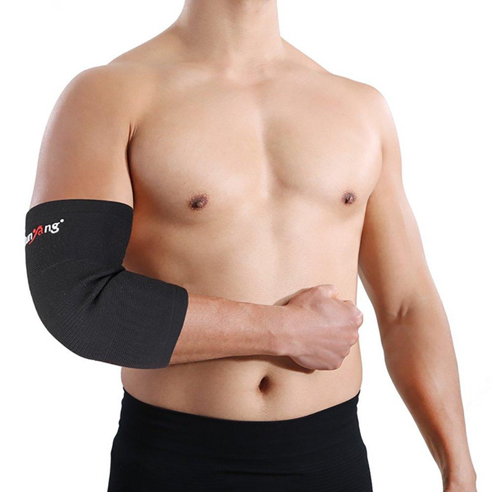 Unterst/ützung f/ür Tennisarm Homyl Ellenbogenbandage beim Sport Armschutz Kompressions- Ellenbogenbandage Schwarz Golfarm Gewichtheben ...