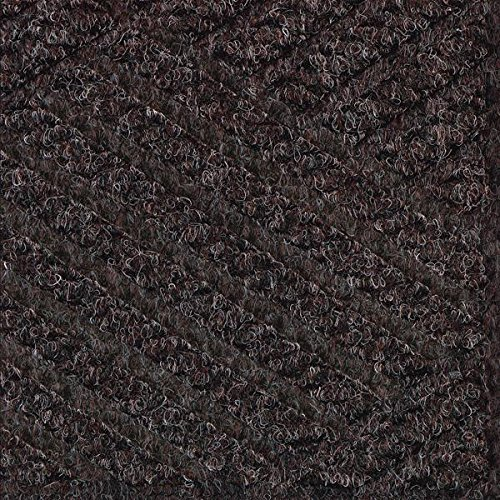 American Floor Mats Waterhog Premier Fashion Chestnut Brown 3' x 16' Entrance Mat - Smooth Back, Fabric Border ()