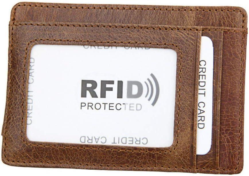 2020 Regalo Europeo Y Americano del DíA del Padre Billetera Retro para Hombre Billetera Tarjeta RFID