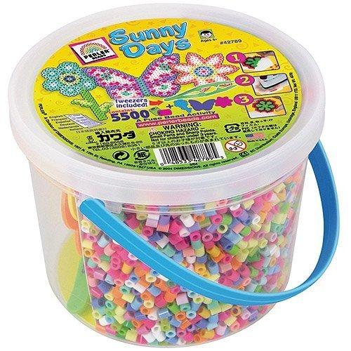 Perler Fuse Bead Activity Bucket, Sunny Days by Perler