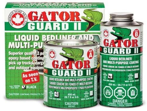 White Truck Bedliner Gator Guard II Bed liner Kit