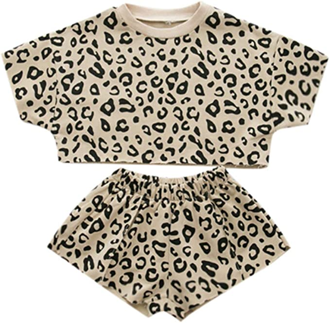 Baby Girls Top Shirt+Headband+Leggings Set Ouffit winter Clothes Age 2-6 Years