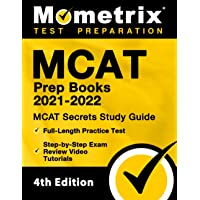 MCAT Prep Books 2021-2022 - MCAT Secrets Study Guide, Full-Length Practice Test, Step-by-Step Exam Review Video…