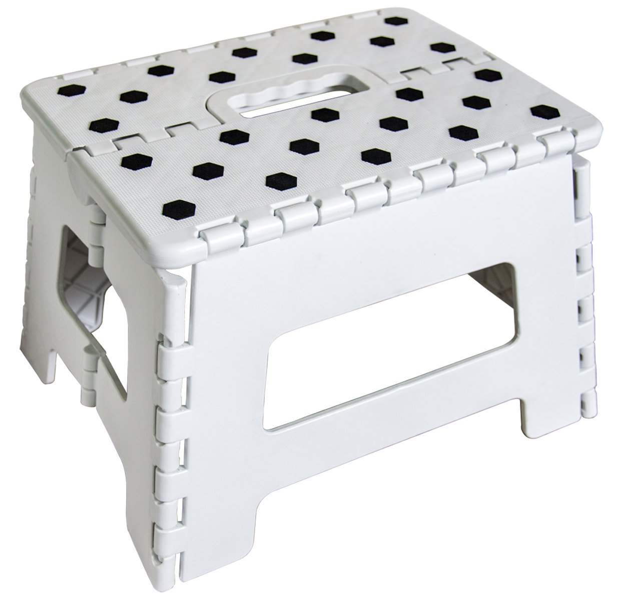 Amazon.com Orgalif Heavy Duty Folding Step Stool with Anti Slip Dots and Strong Support Ladder for Adults and Kids (White) Kitchen u0026 Dining  sc 1 st  Amazon.com & Amazon.com: Orgalif Heavy Duty Folding Step Stool with Anti Slip ... islam-shia.org