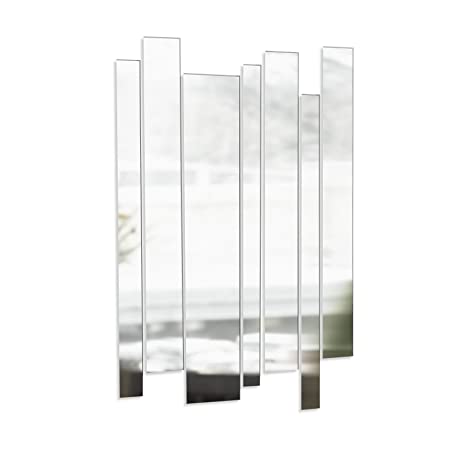 Glass mount strip