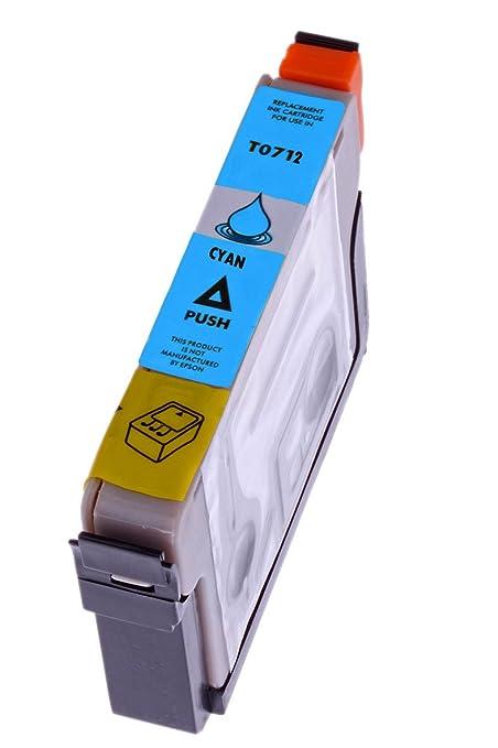 Premium cartucho de tinta para Epson T0712 T 0712 con chip ...