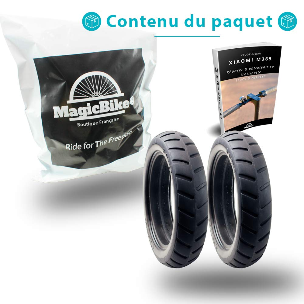 MagicBike®] 2 full tires High quality anti puncture for