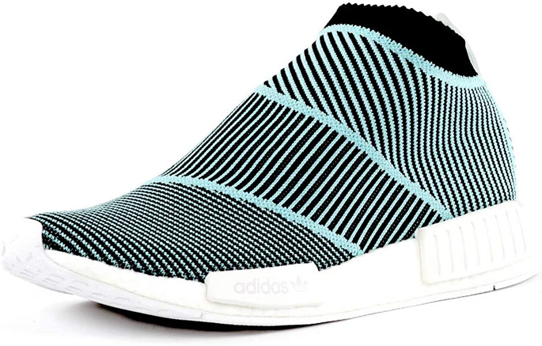 Borradura Aprendizaje sueño  adidas NMD CS1 Parley Primeknit Shoes, Blue, Unisex, Men 7 (UK), Men 40 2/3  (EU), Women 7 (UK), Women 40 2/3 (EU): Amazon.co.uk: Shoes & Bags