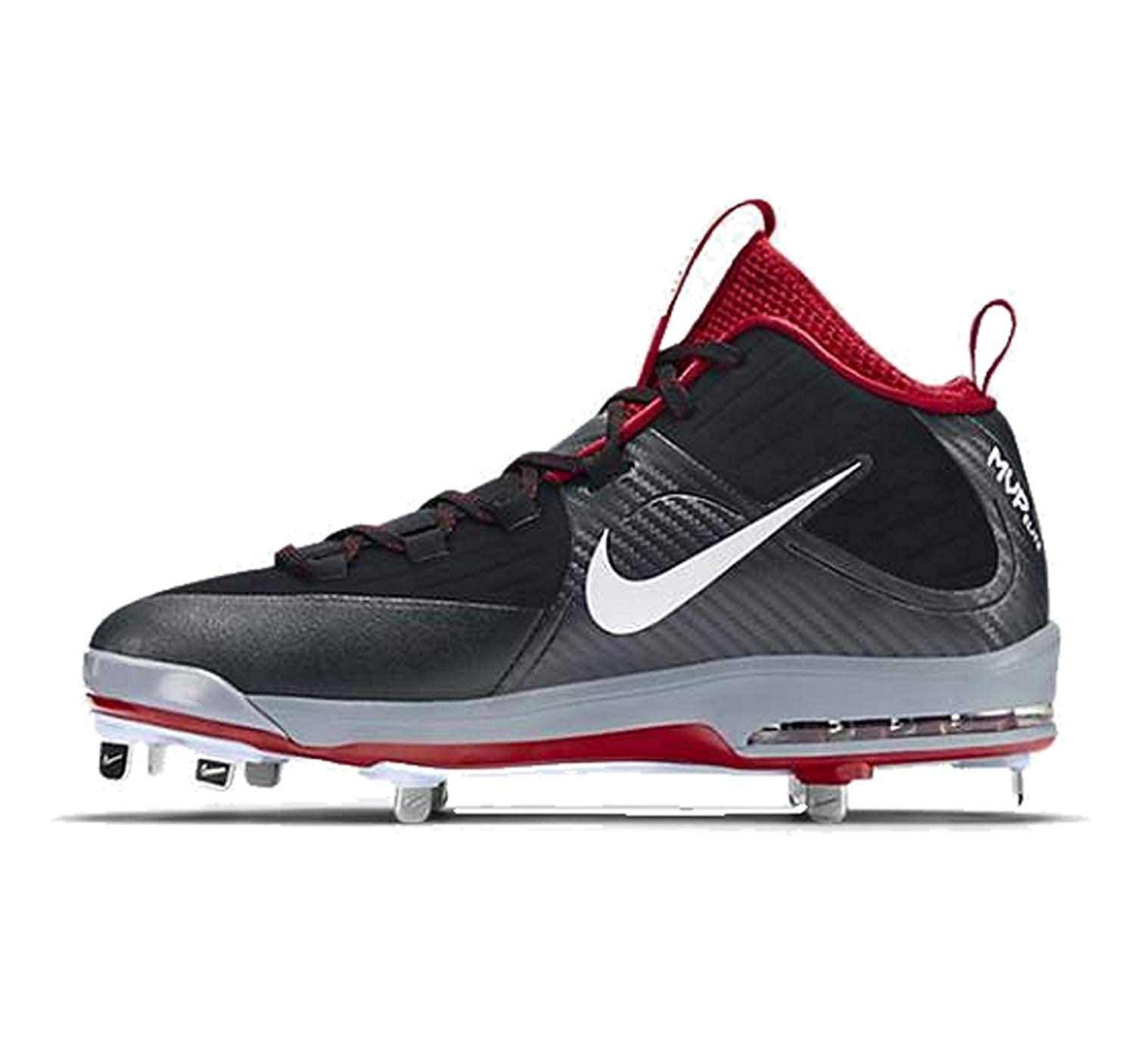 finest selection ab460 251c3 Amazon.com   Nike Men s Air Max MVP Elite Mid Baseball Cleats   Baseball    Softball