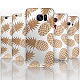 Hairyworm - (BG0076) Brown Pineapple Sony Xperia Z2 semi flex plastic cell phone case, cover, hard plastic cell phone case, cell phone cover, cell phone back cover, cell phone protector