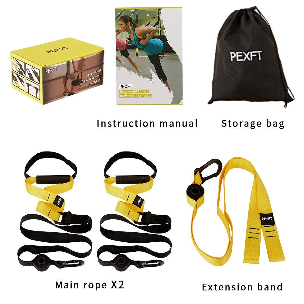 Amazon.com: PEXFT Kit de entrenamiento de resistencia al ...