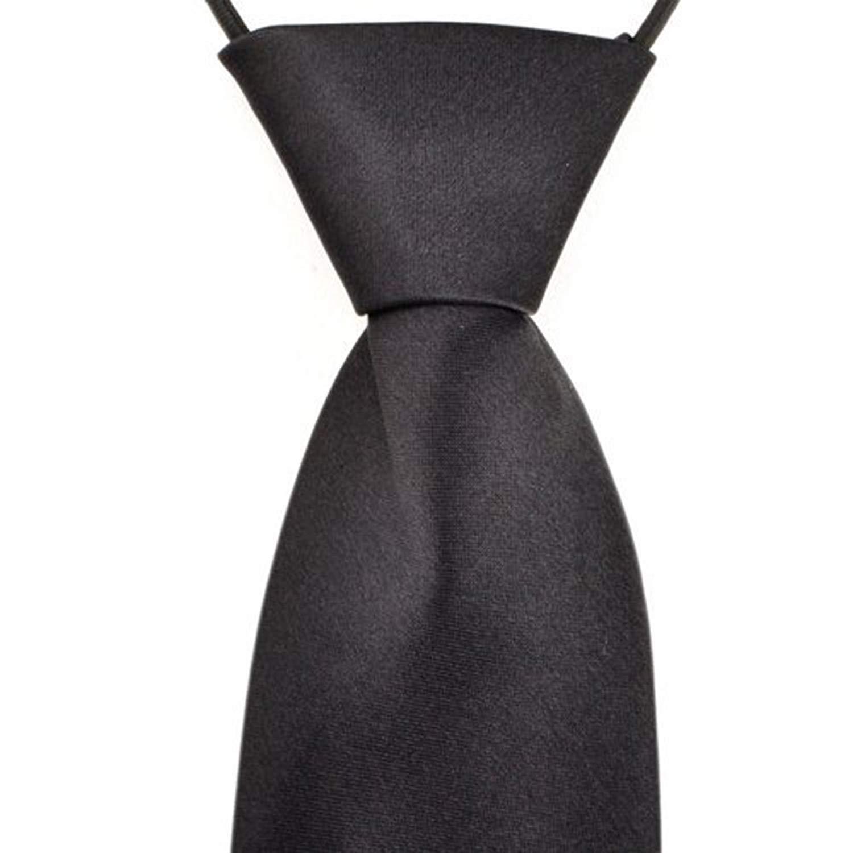 Boys Pretied Wedding School Uniform Elastic Strap Tie Necktie Spring Hedgehog with Mushroom