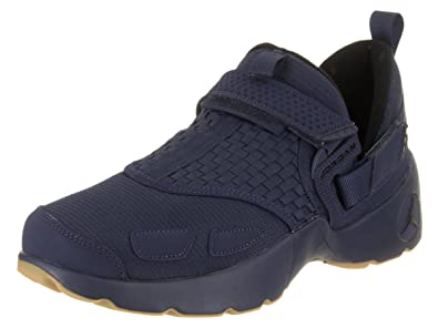 da2b5af1701a3 Image Unavailable. Image not available for. Color  Jordan Nike Men s  Trunner LX Midnight Navy Black Gum Yellow Training Shoe ...