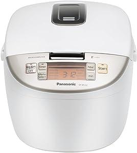 Panasonic SR-MS182 Fuzzy-Logic 10-Cup Rice Cooker, White
