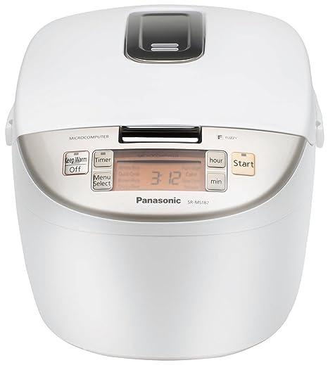 New Panasonic SR-DF181 10-Cup Micro Fuzzy Logic Rice Cooker//Steamer