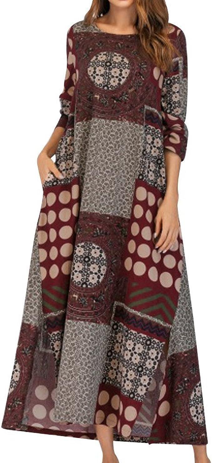 Frauen Kleider Damen Kleid Elegant Sommerkleider Strand Rockabilly