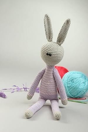 Juguete tejido a crochet hecho a mano muneco de peluche regalo original