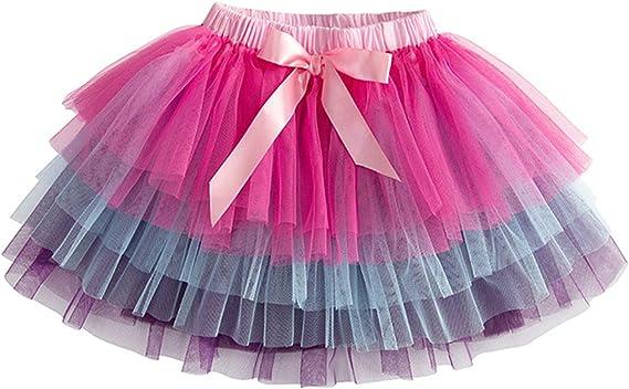 Baby Girls Tutu Skirt Pettiskirt Fluffy Children Ballet Skirts for Party Dance Princess Girl Tulle Clothes