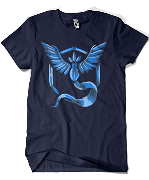 1559-Camiseta Pokemon Go Team Mystic (Legendary P,) : Amazon.es: Ropa y accesorios
